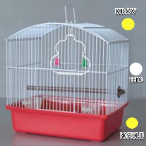 Kavez za ptice W044 žuta i bela