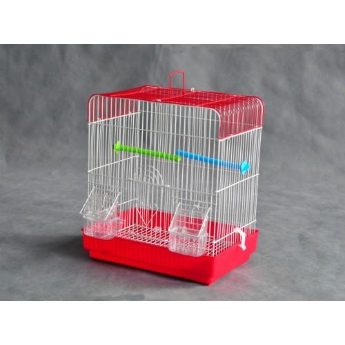 Kavez za ptice W202 bela i crvena