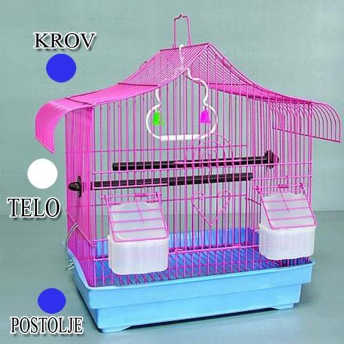 Kavez za ptice W203 Plava