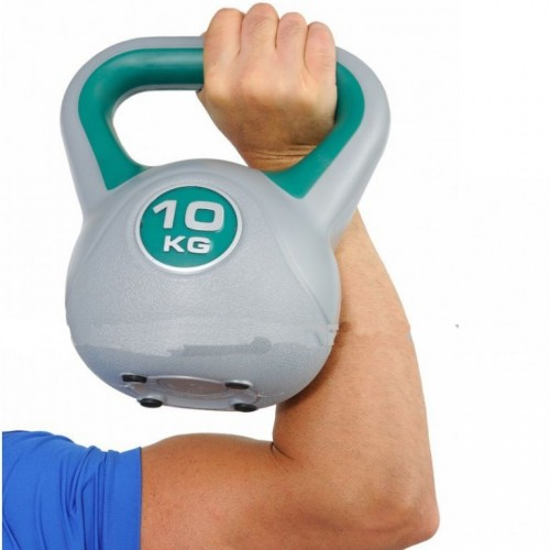 Kettlebell 10kg plastičan DB2819-10