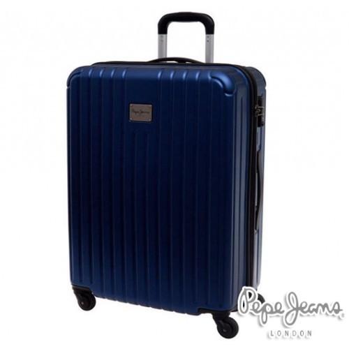 Kofer Pepe Jeans Color Stripes Blue 67 cm
