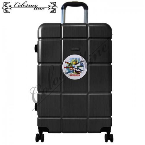 Kofer sa točkićima i teleskopskom ručkom ABS 23x38x56 GL-981 Crni
