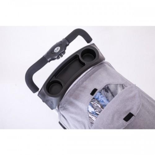 Kolica duo sistem (kolica+auto-sedište) Puerri GoGo Grey Blue