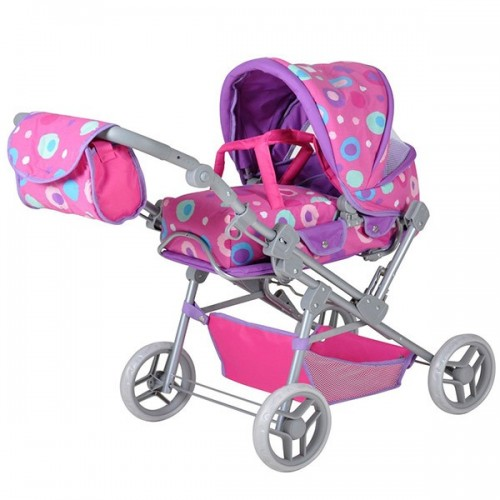 Kolica za lutke Mioux Pink Splash