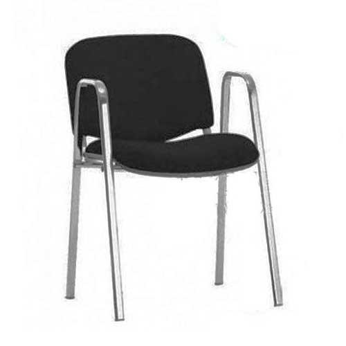Konferencijska stolica sa rukonaslonom crna