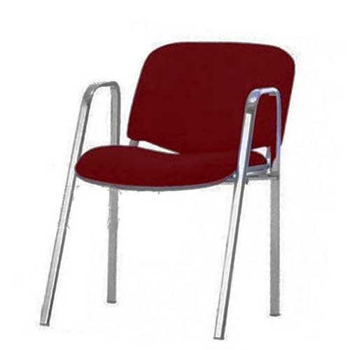 Konferencijska stolica sa rukonaslonom bordo