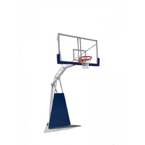 Košarkaška konstrukcija sa pleksiglas tablom