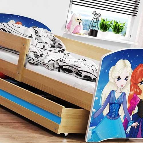 Dečiji krevet Lookie Adler 160x80 cm sa dušekom dezen 06