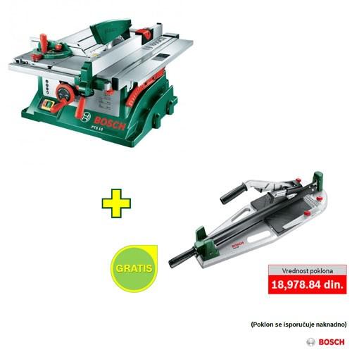 Stona kružna testera Bosch PTS 10 + poklon