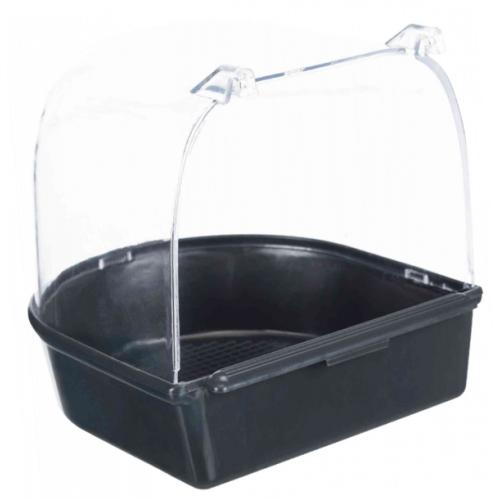 Kućica za kupanje 14x14x15cm crna