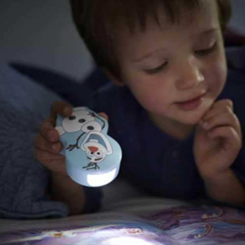 Philips Baterijska decija lampa Frozen plava 71767/08/16