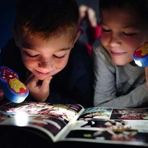 Philips Baterijska dečija lampa Iron Man tamno plava 71767/35/16