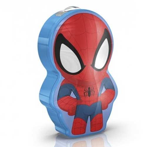 Philips Baterijska lampa Spider Man tamno plava 71767/40/16