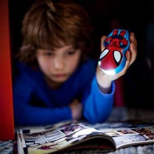 Philips Baterijska dečija lampa Spider Man tamno plava 71767/40/16