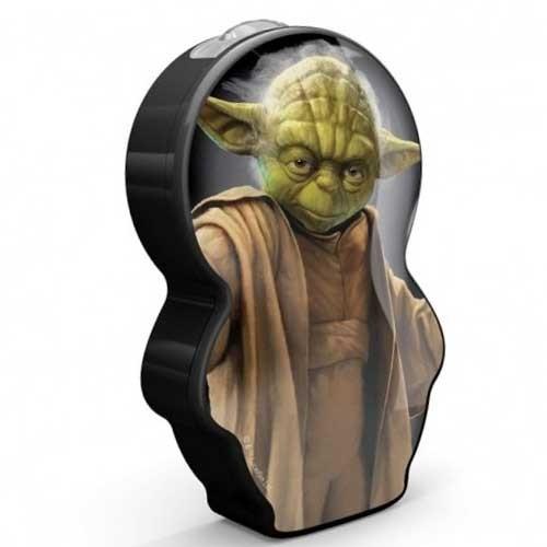 Philips Baterijska lampa Star wars - Yoda crna 71767/99/16