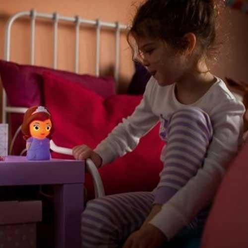 Philips Stona dečija lampa SoftPal  Sofia Frozen LED 71768/06/16
