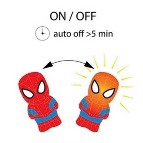 Philips Stona dečija lampa SoftPal Spiderman LED 71768/40/16