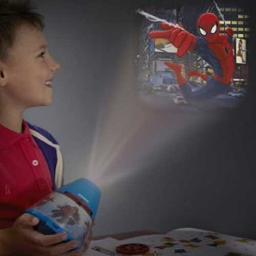 Philips Stona LED lampa - projektor Spider Man 71769/40/16