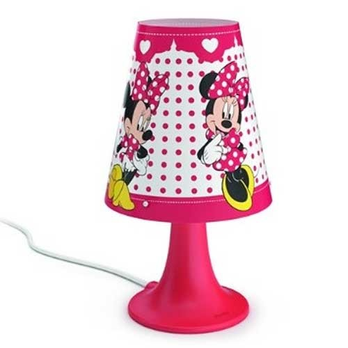 Philips Stona lampa Minnie Mouse bela LED 71795/31/16