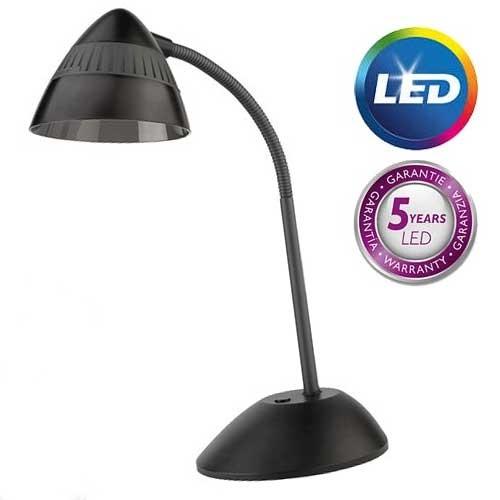 Philips Stona lampa Cap crna LED 70023/30/16