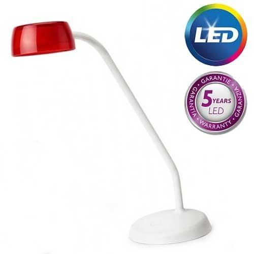 Philips Stona lampa JELLY crvena LED 72008/32/16