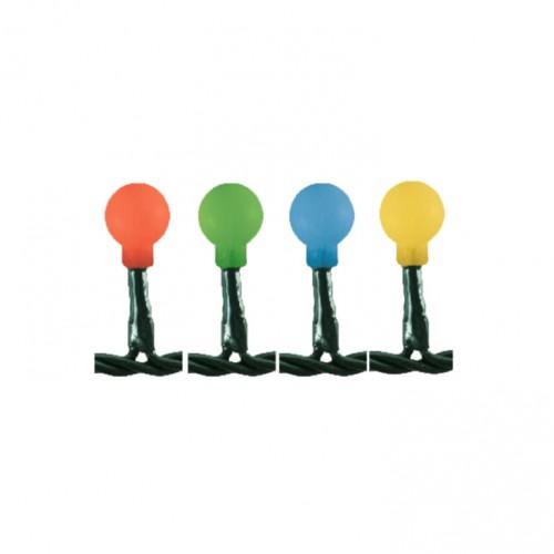 Lampice za jelku sa 100 višebojnih LED dioda KII100B/M