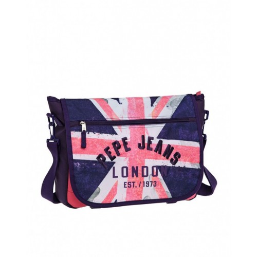 Laptop torba pink/blue London