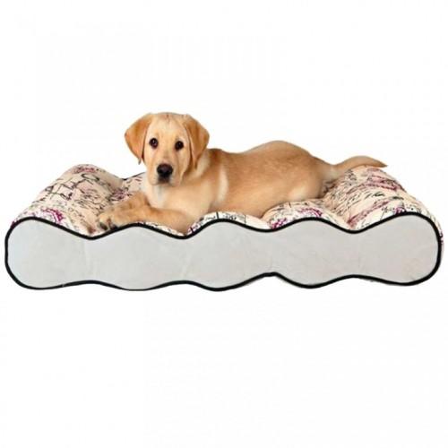 Ležaljka za pse TrixieCarta sivo-bež 37766
