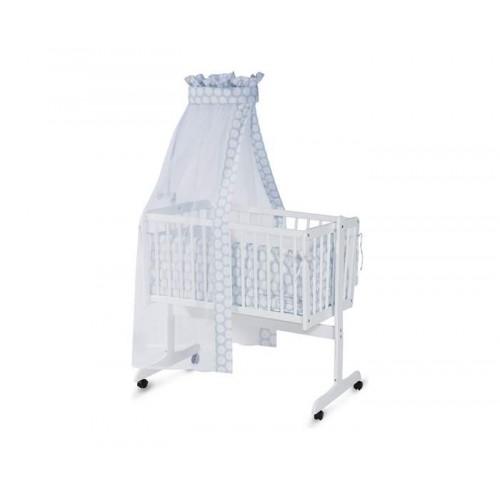 Ljuljaška za bebe Lorelli First Ewa bela