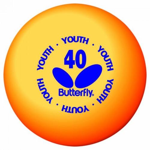 Loptice za stoni tenis Butterfly 40 (6 kom)