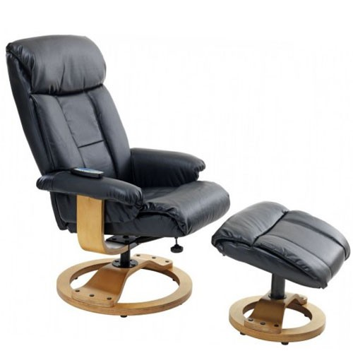Fotelja za masažu sa tabureom