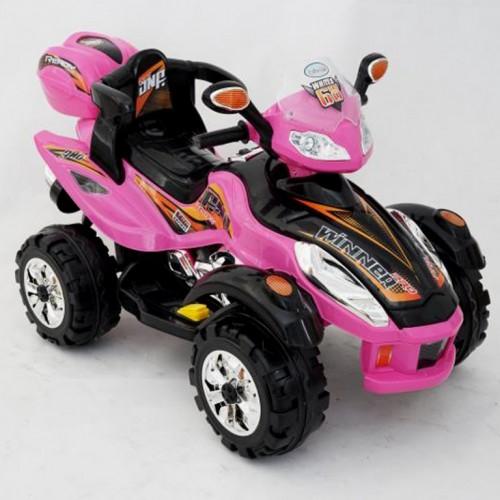 Motor na akumulator Bagi Quad pink