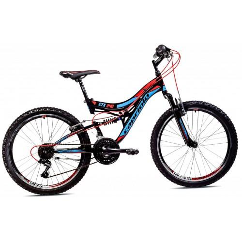Mountain Bike CTX 240 24 Crna i Crvena 15