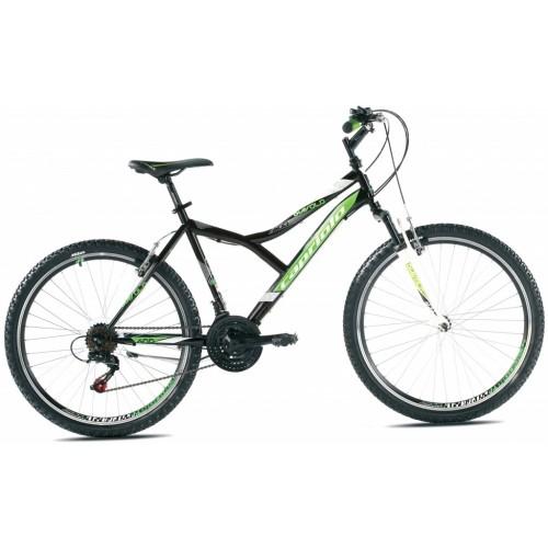 Mountain Bike Diavolo 600 FS 26 Zelena