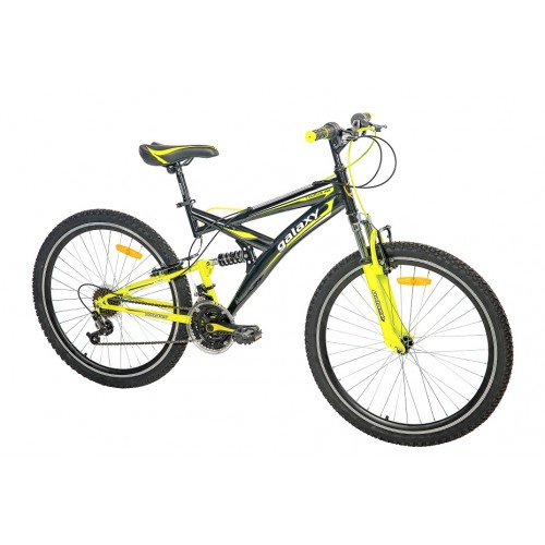 Mountin Bike TAURUS 26in 18 crna-neon žuta