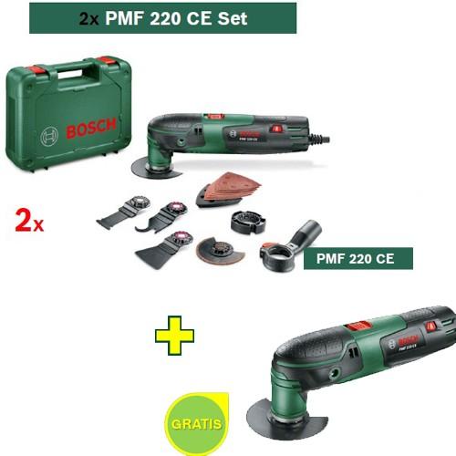 Multifunkcionalni alat Bosch PMF 220 CE set 2 kom + Bosch PMF 220 CE