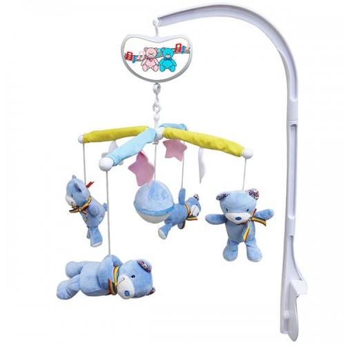 Muzička vrteška veseli medvedići Biba Toys