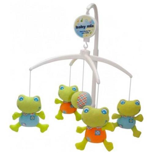 Muzička vrteška Žabice Baby mix