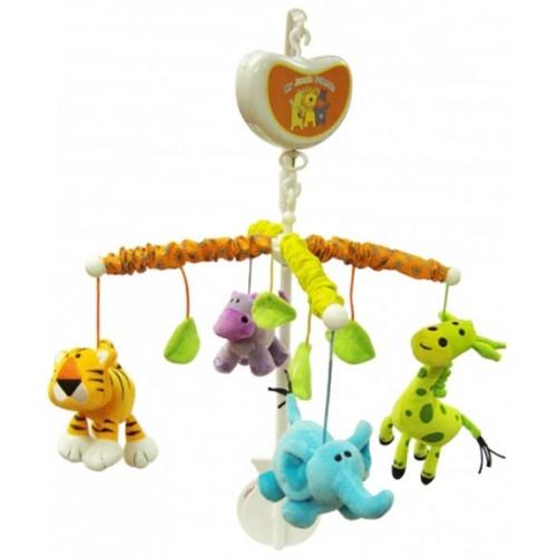Muzička vrteška zanimljiva džungla Biba Toys