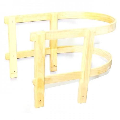 Naslon za drvene sanke