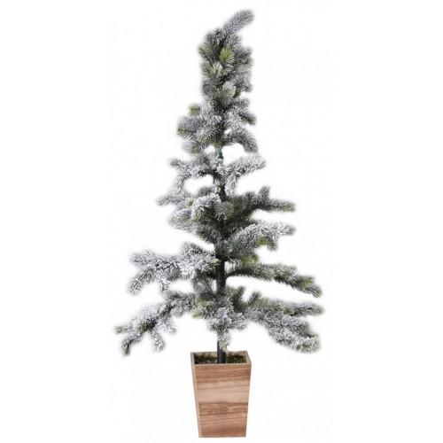 Novogodišnja jelka u saksiji Deco Wood 100 cm