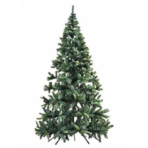 Novogodišnja jelka zelena sa belim vrhovima 420 cm