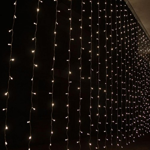 Novogodišnja LED zavesa 2x1m hladno bela