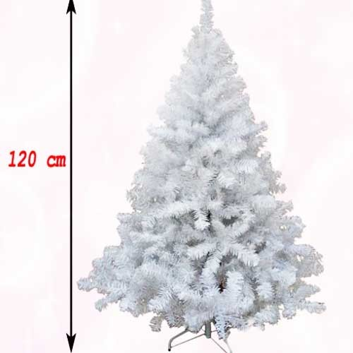 Bela novogodišnja jelka Wonder White 120 cm
