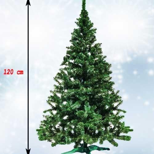 Zelena novogodišnja jelka 120 cm