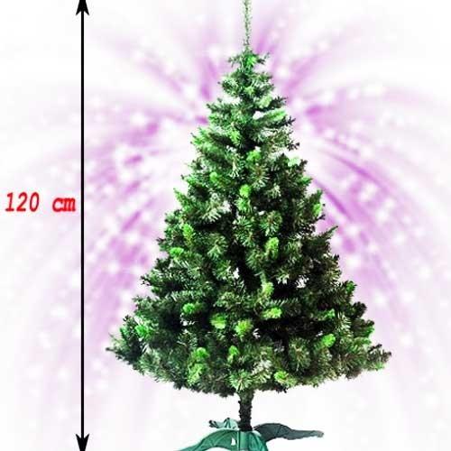 Novogodišnja jelka sa zelenim vrhovima 120 cm