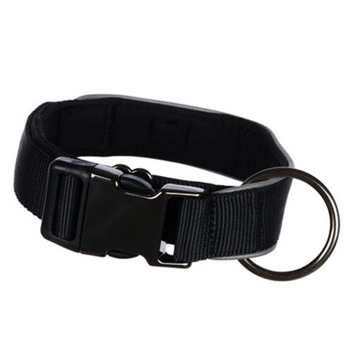 Ogrlica za pse široka veličina L-XL trixie expiriance crna