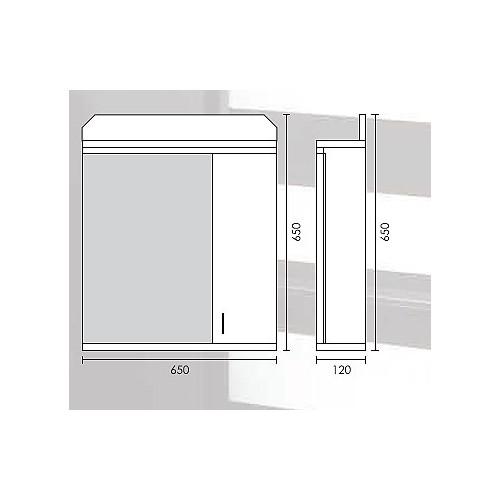Ormarić Za Kupatilo Sa Ogledalom i Rasvetom G 650