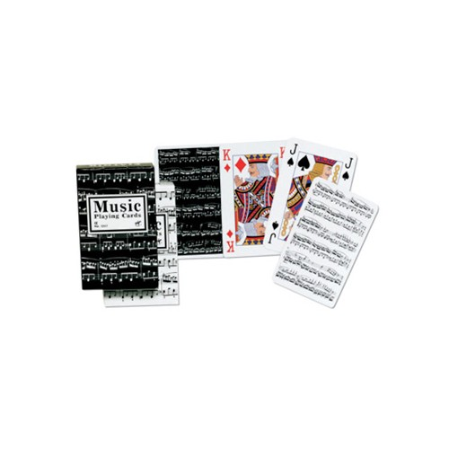 Piatnik karte 1/1 Music Bridge