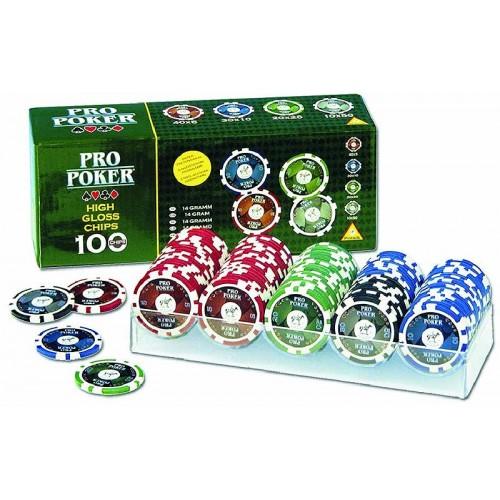 Piatnik Pro Poker Set 100 Žetona 790591